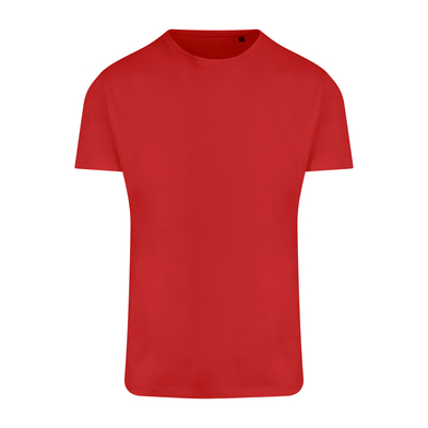 Ambaro Recycled Sports Tee In Fire Red