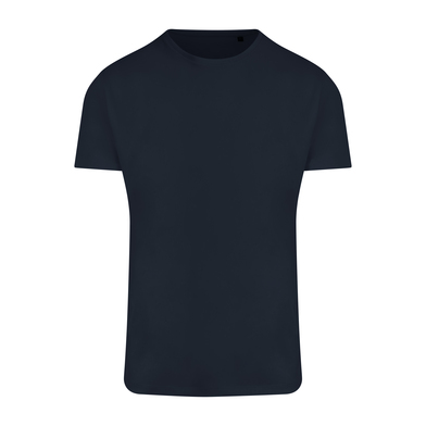 Ambaro Recycled Sports Tee In French Navy