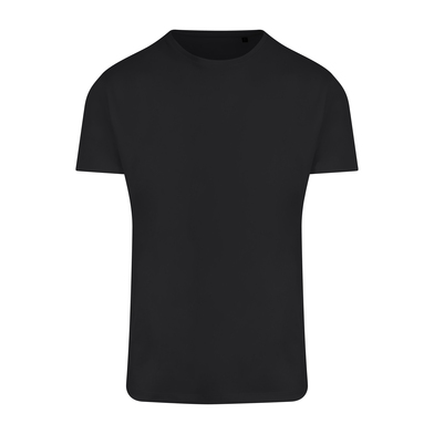 Ambaro Recycled Sports Tee In Jet Black