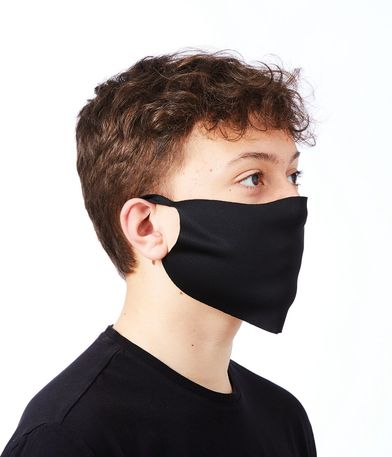 Face Cover (Packs Of 10 And 50) In Black