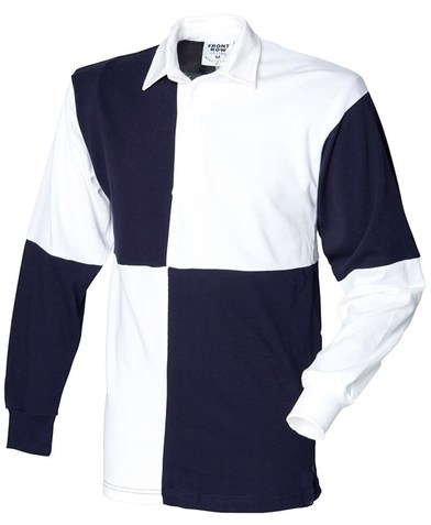 Front Row - Quartered Rugby Shirt