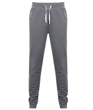 French Terry Joggers In Charcoal Marl