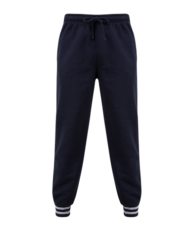 Front Row - Joggers With Striped Cuffs