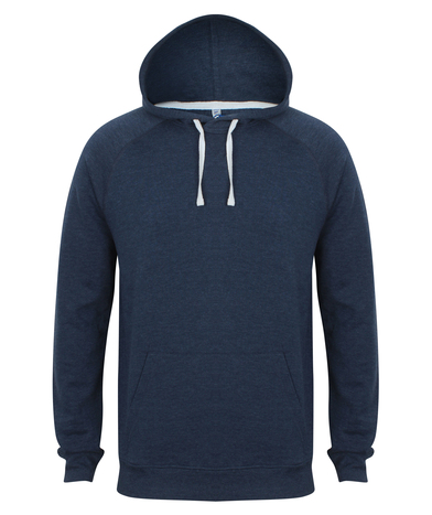 French Terry Hoodie In Navy Marl