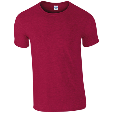 Softstyle Adult Ringspun T-shirt In Antique Cherry Red