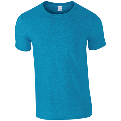Softstyle Adult Ringspun T-shirt In Antique Sapphire