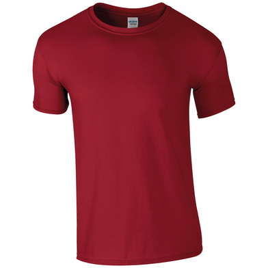 Softstyle Adult Ringspun T-shirt In Cardinal Red