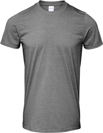 Softstyle Adult Ringspun T-shirt In Graphite Heather