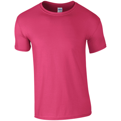 Softstyle Adult Ringspun T-shirt In Heliconia