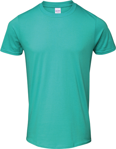 Softstyle Adult Ringspun T-shirt In Jade Dome