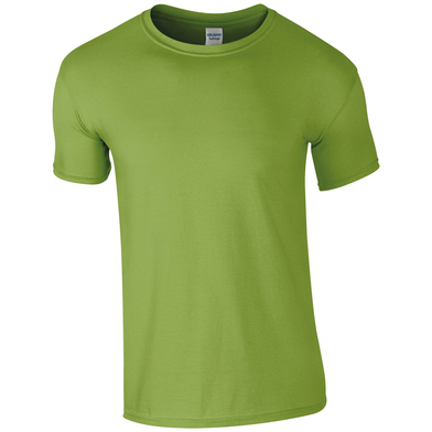 Softstyle Adult Ringspun T-shirt In Kiwi