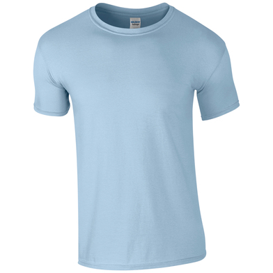 Softstyle Adult Ringspun T-shirt In Light Blue