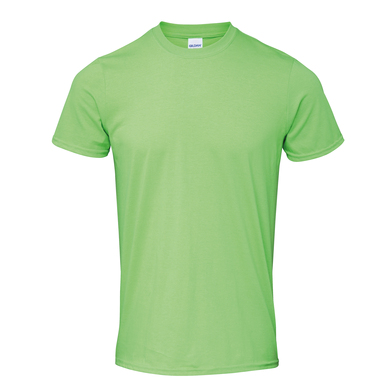 Softstyle Adult Ringspun T-shirt In Lime