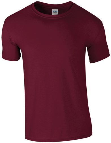 Softstyle Adult Ringspun T-shirt In Maroon