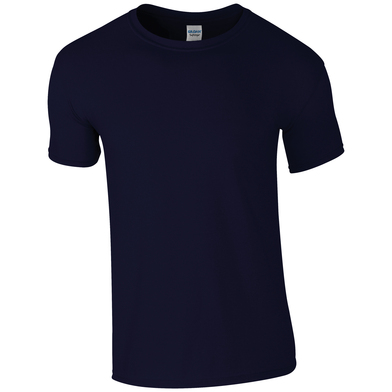 Softstyle Adult Ringspun T-shirt In Navy