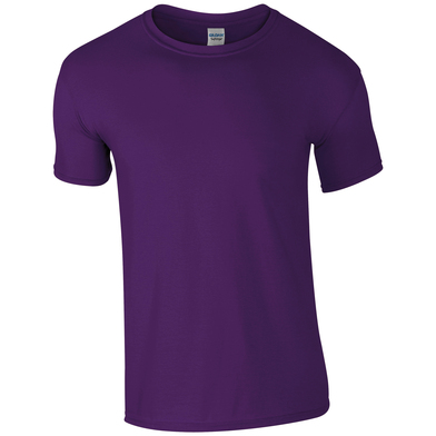 Softstyle Adult Ringspun T-shirt In Purple