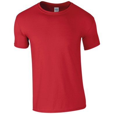 Softstyle Adult Ringspun T-shirt In Red