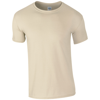 Softstyle Adult Ringspun T-shirt In Sand