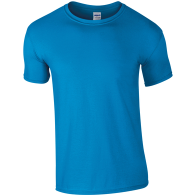 Softstyle Adult Ringspun T-shirt In Sapphire