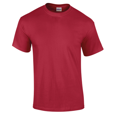 Ultra Cotton Adult T-shirt In Cardinal Red