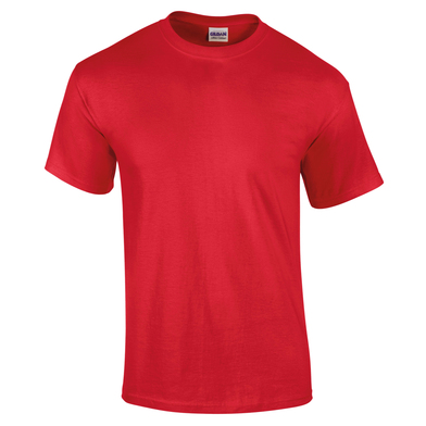 Ultra Cotton Adult T-shirt In Cherry Red
