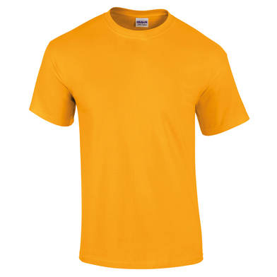 Ultra Cotton Adult T-shirt In Gold