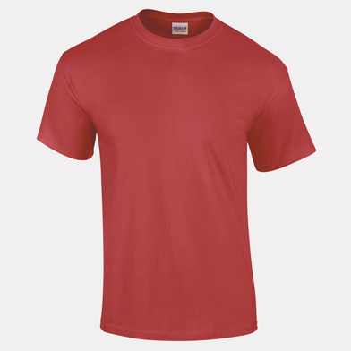 Ultra Cotton Adult T-shirt In Heather Cardinal