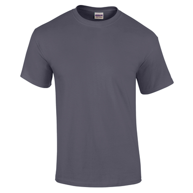 Ultra Cotton Adult T-shirt In Heather Navy