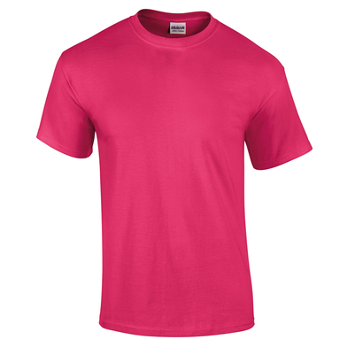 Ultra Cotton Adult T-shirt In Heliconia