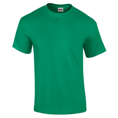 Ultra Cotton Adult T-shirt In Kelly Green