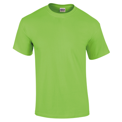 Ultra Cotton Adult T-shirt In Lime