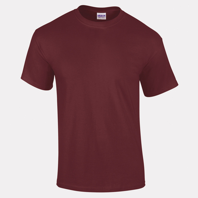 Ultra Cotton Adult T-shirt In Maroon