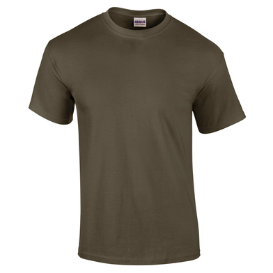 Ultra Cotton Adult T-shirt In Military Green