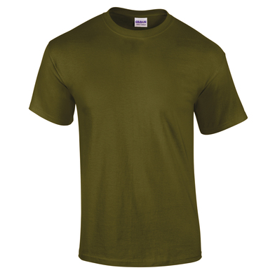 Ultra Cotton Adult T-shirt In Olive