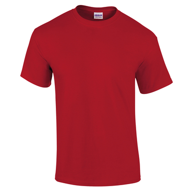 Ultra Cotton Adult T-shirt In Red