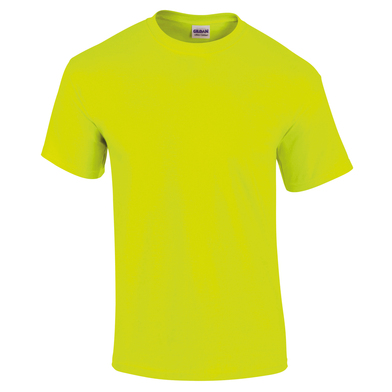Ultra Cotton Adult T-shirt In Safety Green
