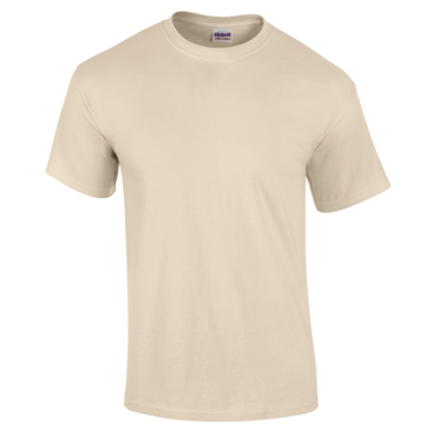 Ultra Cotton Adult T-shirt In Sand