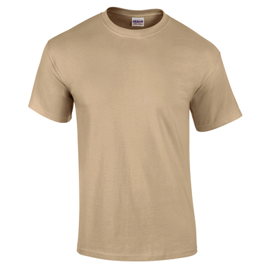 Ultra Cotton Adult T-shirt In Tan