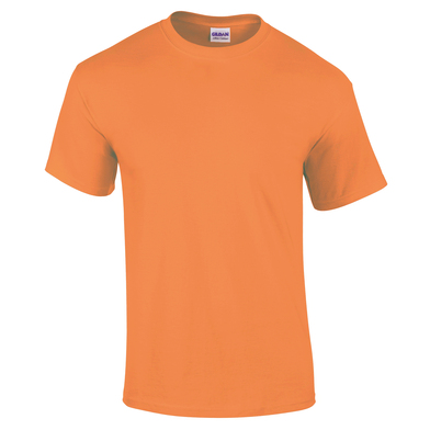 Ultra Cotton Adult T-shirt In Tangerine