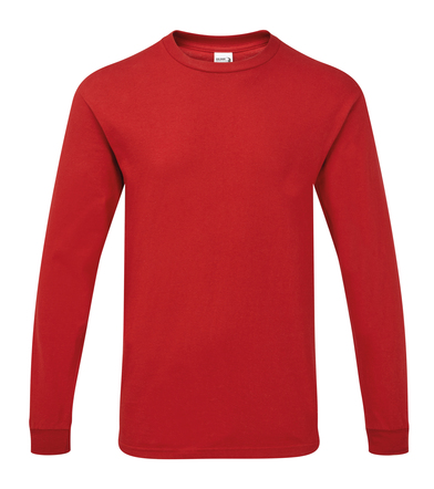 Hammer� Adult Long Sleeve T-shirt In Sport Scarlett Red
