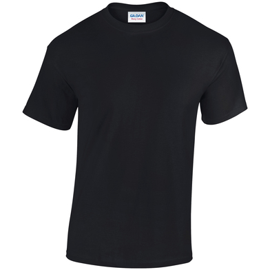 Heavy Cotton Adult T-shirt In Black