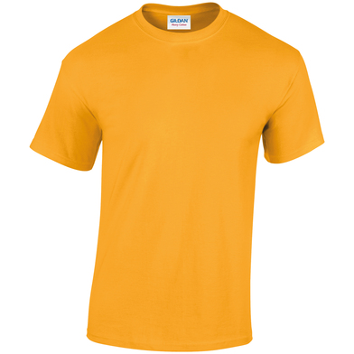 Heavy Cotton Adult T-shirt In Gold
