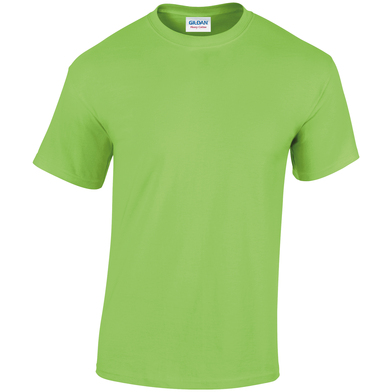 Heavy Cotton Adult T-shirt In Lime