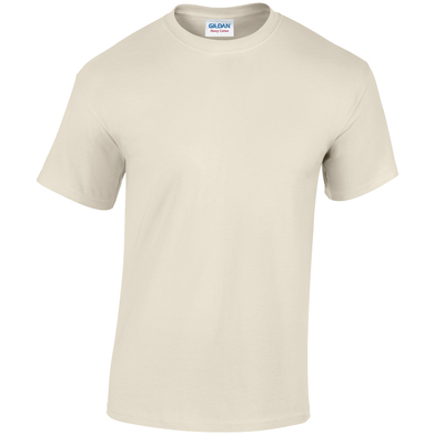 Heavy Cotton Adult T-shirt In Natural