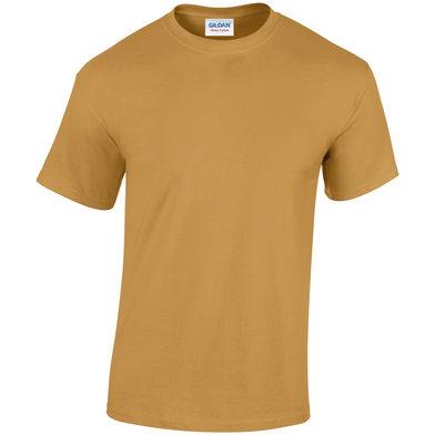 Heavy Cotton Adult T-shirt In Old Gold