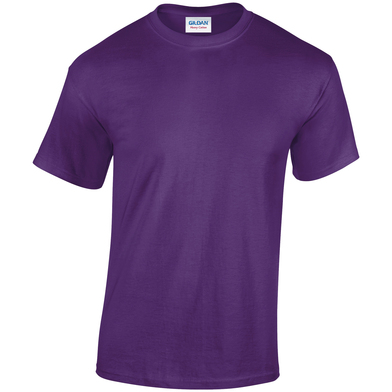 Heavy Cotton Adult T-shirt In Purple