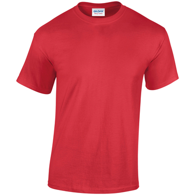 Heavy Cotton Adult T-shirt In Red