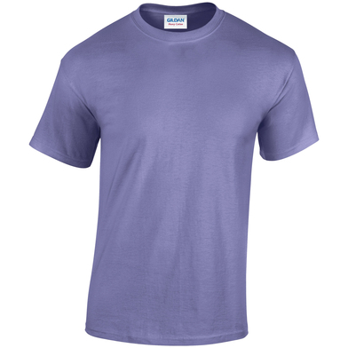 Heavy Cotton Adult T-shirt In Violet