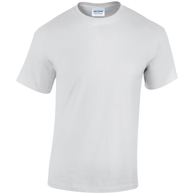 Heavy Cotton Adult T-shirt In White