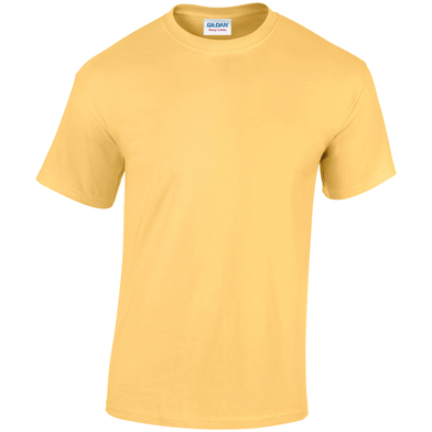 Heavy Cotton Adult T-shirt In Yellow Haze